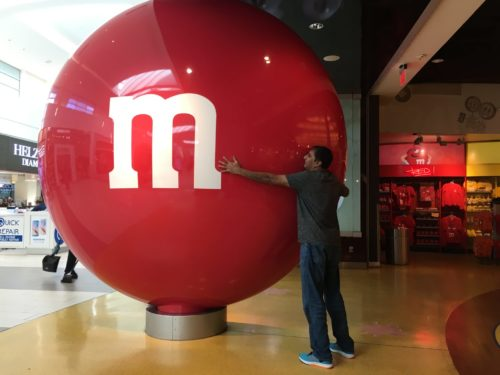m and m store in florida mall
