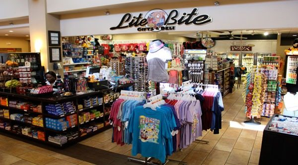Lite Bite Mini-Market & Deli offers several food options from 6:00 AM to 1:00 AM daily
