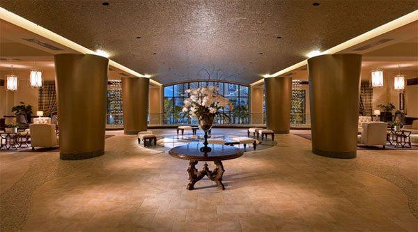 Wyndham Grand Orlando Resort lobby area
